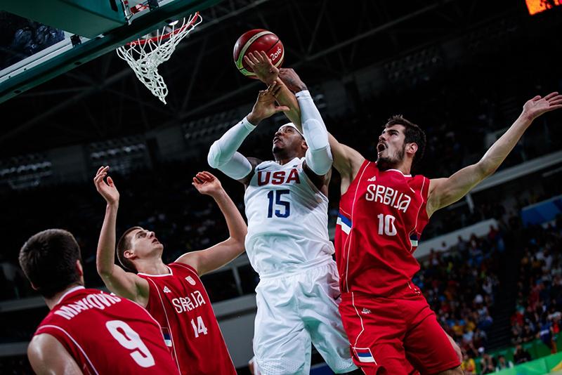 Frente a frente USA vs Serbia