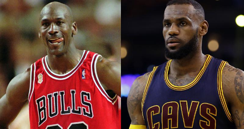 LeBron James tras el fantasma de Michael Jordan