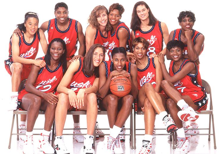 La selección olímpica femenil de Estados Unidos en Atlanta 96