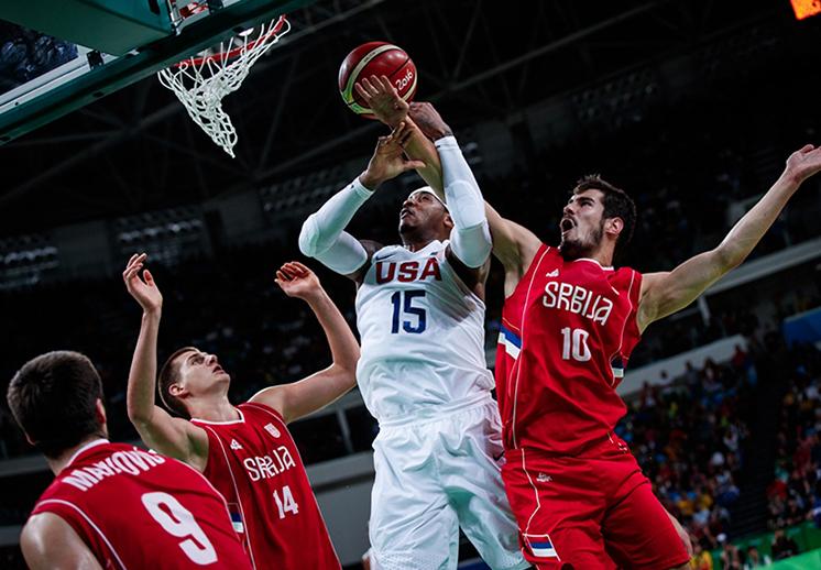 thumbnail. Frente a frente USA vs Serbia