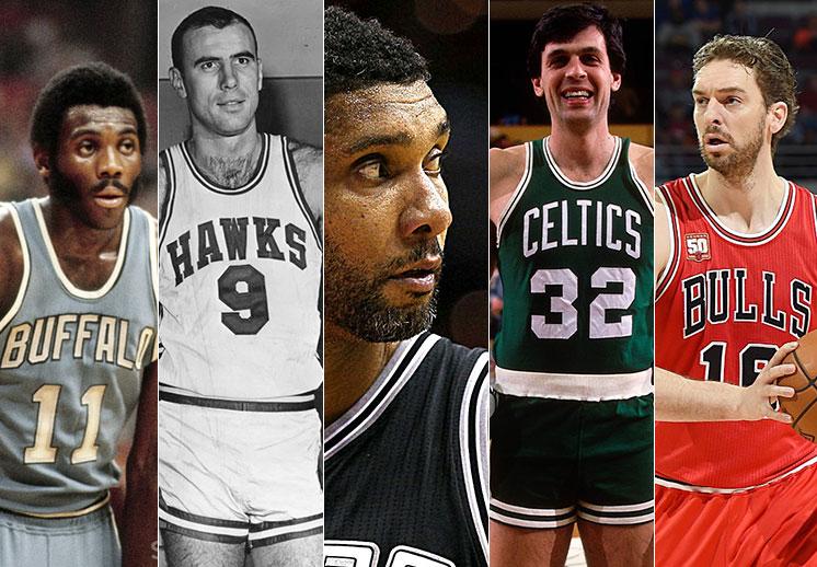 Los 10 mejores ala-pívots de la historia de la NBA.