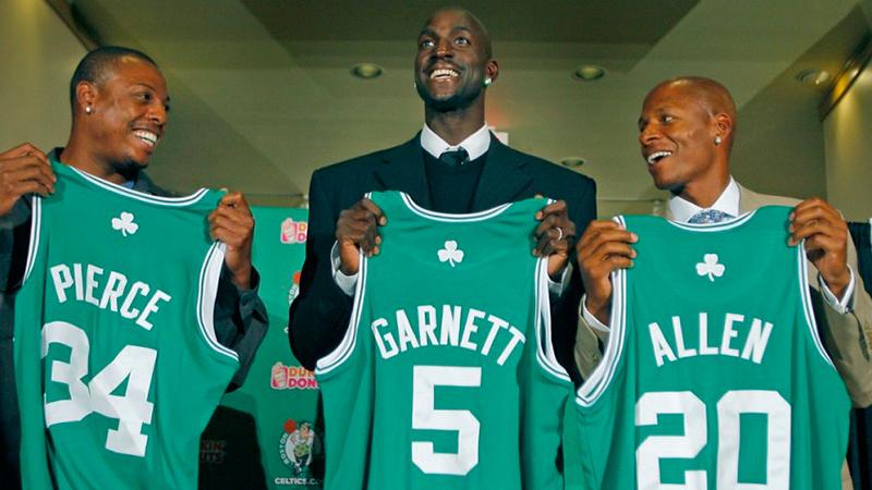 El día que Garnett llegó a Boston