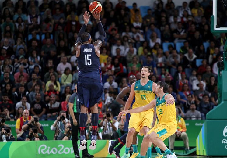 Carmelo Anthony el hombre récord para Estados Unidos