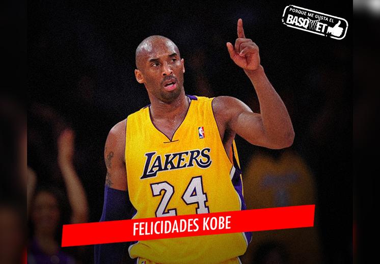 Feliz cumpleaños, Kobe Bryant por Viva Basquet