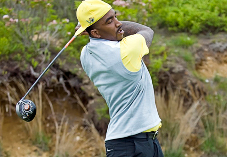 JR Smith y su mini gira de golf