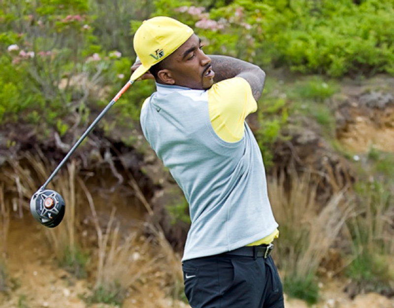 JR Smith y su mini gira de golf