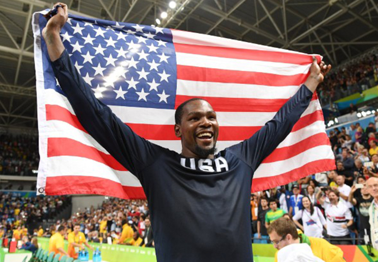 Los Juegos Olímpicos fueron mi terapia: Kevin Durant