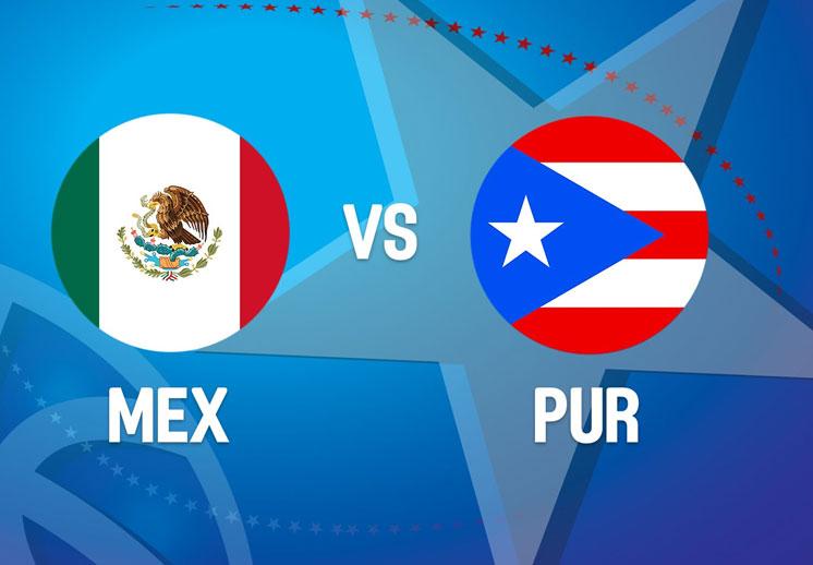 México no pudo con Puerto Rico