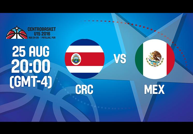 México inició con victoria en Centrobasket U15