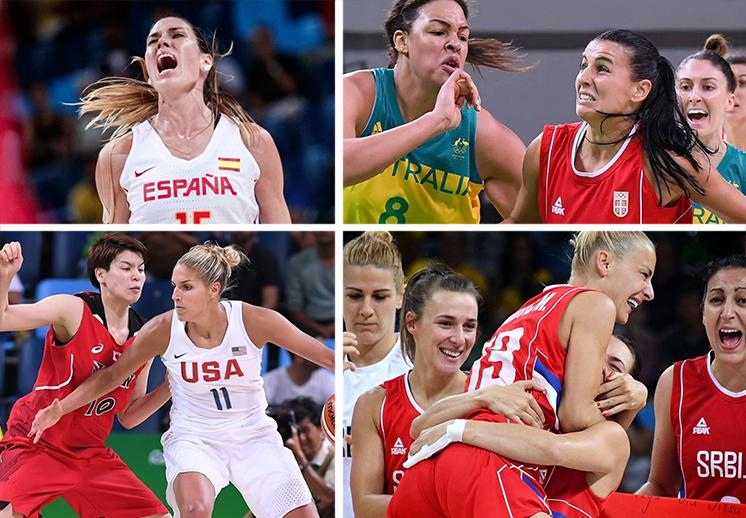 Los dramáticos juegos de baloncesto femenil