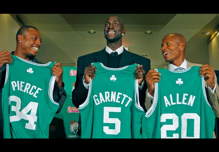 thumbnail. El día que Garnett llegó a Boston