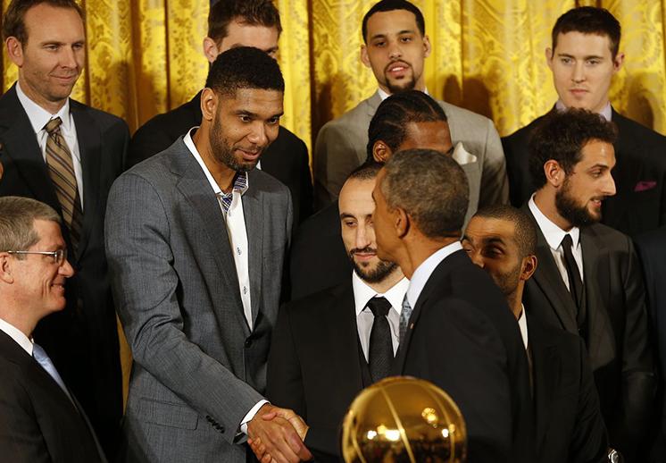 Duncan fue invitado por Obama para ir a los Juegos Olímpicos