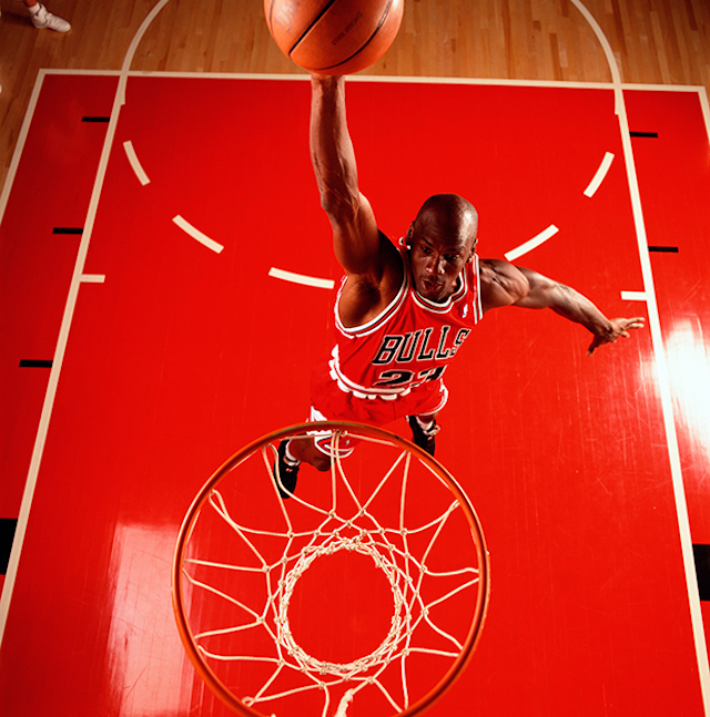 Fotos de Michael Jordan tomadas por Walter Iooss foto 2