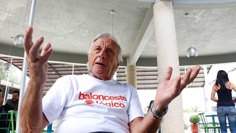Clínica con los coaches Carlos Morales y Maurizio Mondoni en la CDMX