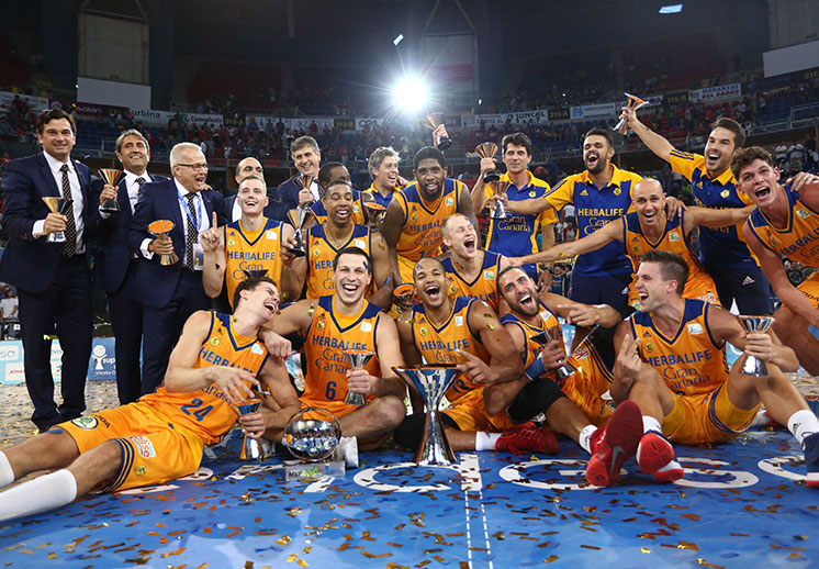 Gran Canaria arrasó al Barcelona y se queda con la Supercopa Endesa