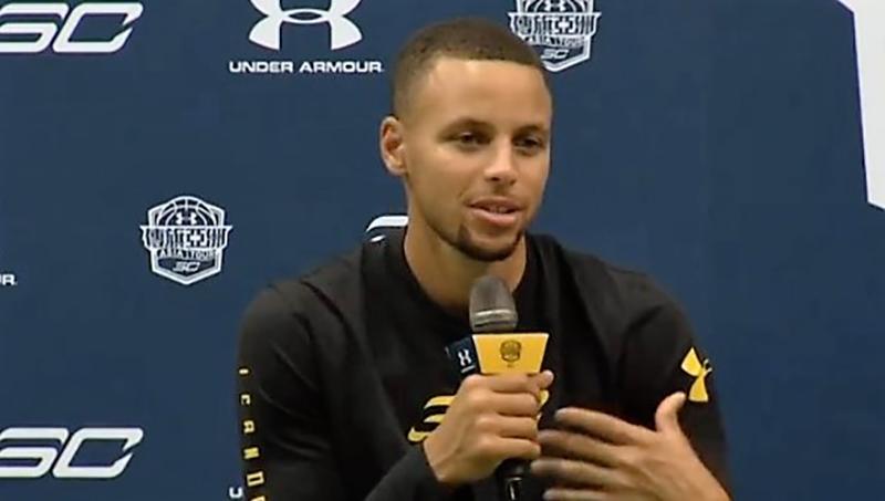 Stephen Curry: la meta es ganar el campeonato