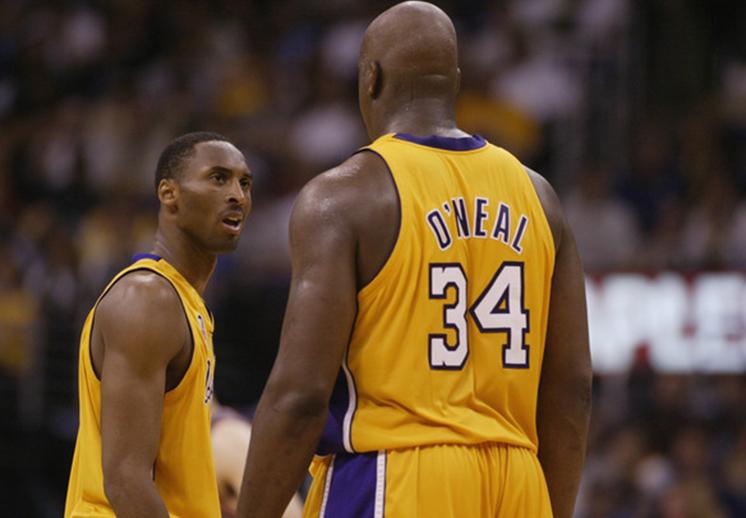 Kobe Bryant le manda felicitaciones al Shaq