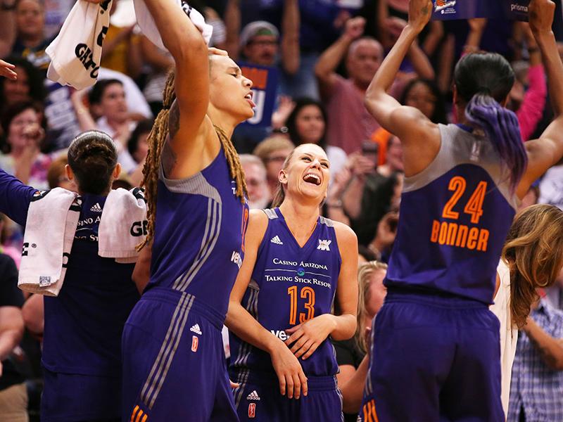 Listas las invitadas a los playoffs de la WNBA foto 2