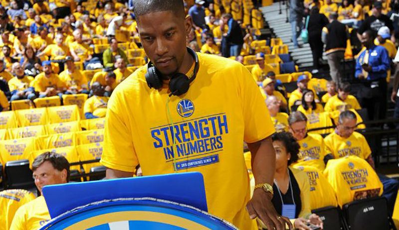 Conoce al DJ de los Golden State Warriors