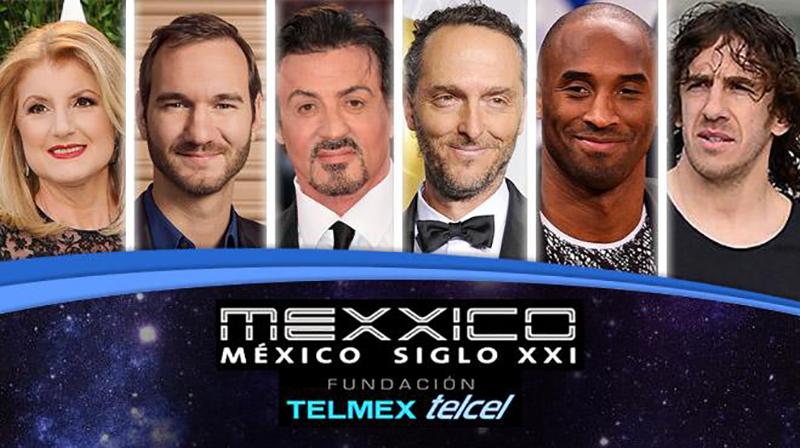 Kobe Bryant estuvo presente en el evento de Fundación Telmex México Siglo XXI foto 1