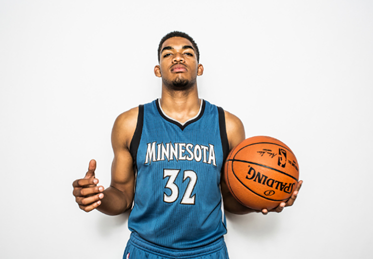 KARL-ANTHONY TOWNS SUEÑA EN GRANDE