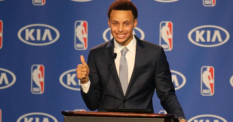 Curry habló sobre KD y los Warriors foto 1