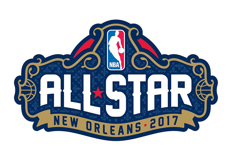 PRESENTAN EL LOGO DEL NBA ALL-STAR GAME EN NEW ORLEANS