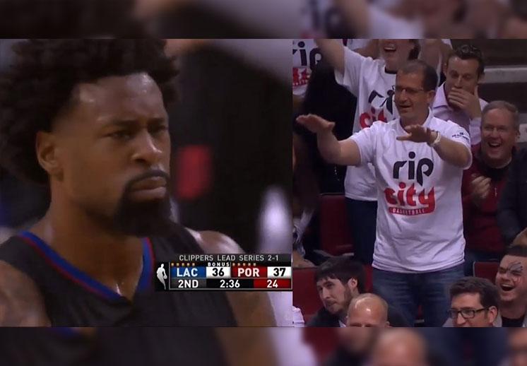 Blazers se burlan de los Clippers y sus tiros libres