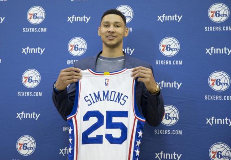 Ben Simmons vale oro para Filadelfia