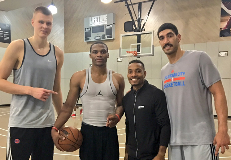 El campamento de los Knicks y OKC