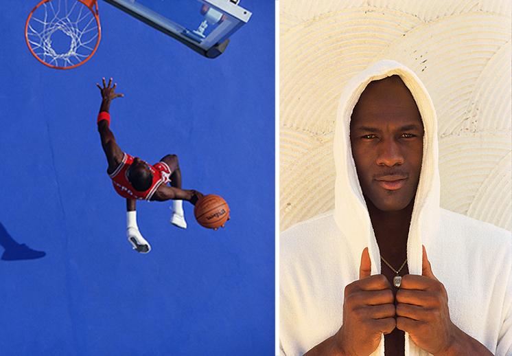 Fotos de Michael Jordan tomadas por Walter Iooss