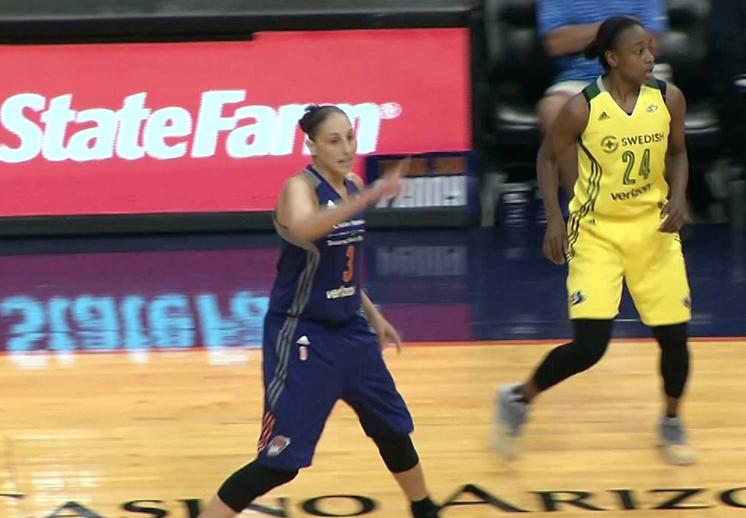 Listas las invitadas a los playoffs de la WNBA