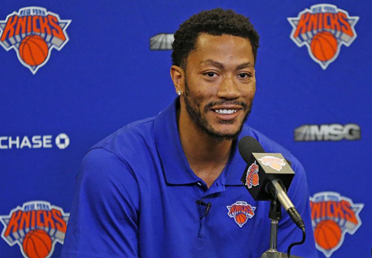 Derrick Rose emocionado por jugar con los Knicks