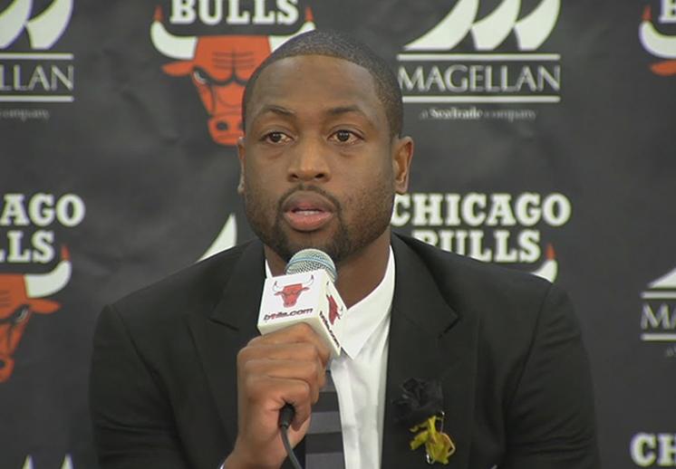 Dwyane Wade y sus motivos sociales para regresar a Chicago