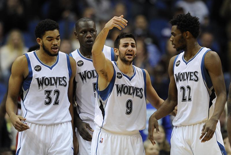 Uno de los 5 Equipos a seguir en la temporada 2016-2017 es Timberwolves