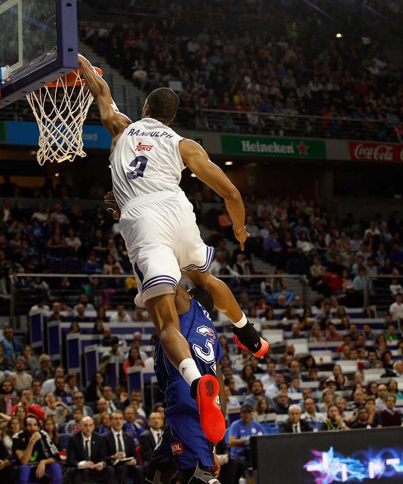 El show de Anthony Randolph con Real Madrid foto 1