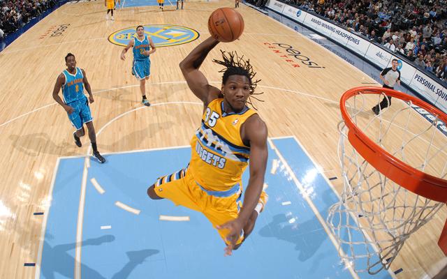 New Orleans Hornets v Denver Nuggets
