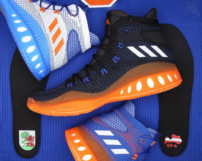Kristaps Porzingis firma con Adidas foto 4