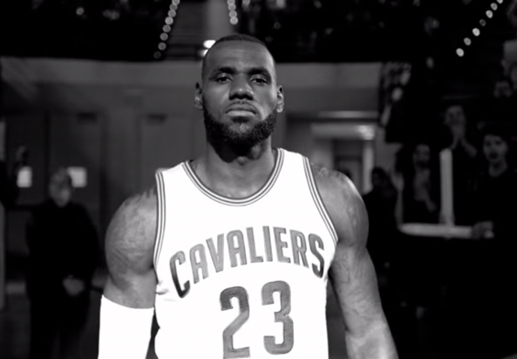 """Campaña de Nike Lebron: """"Come out of Nowhere"""""""