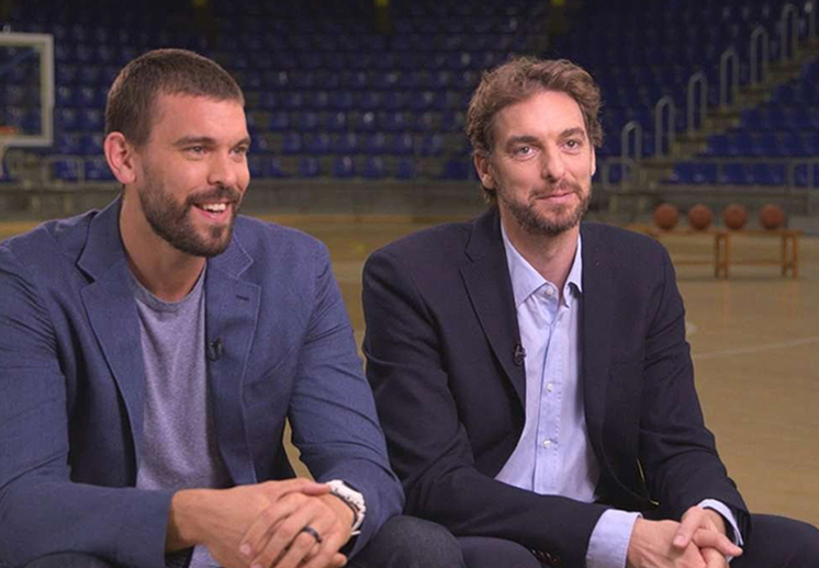documental de 60 minutes Sports de los hermanos gasol