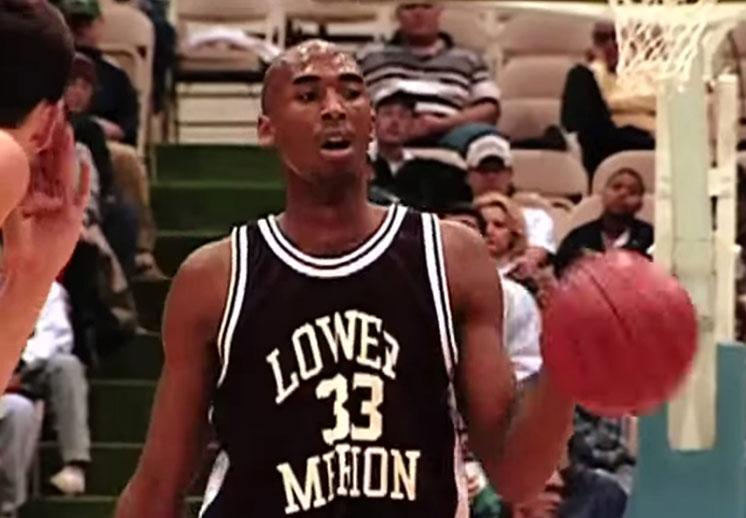 Top 10 de las mejores jugadas de Kobe Bryant en la preparatoria.