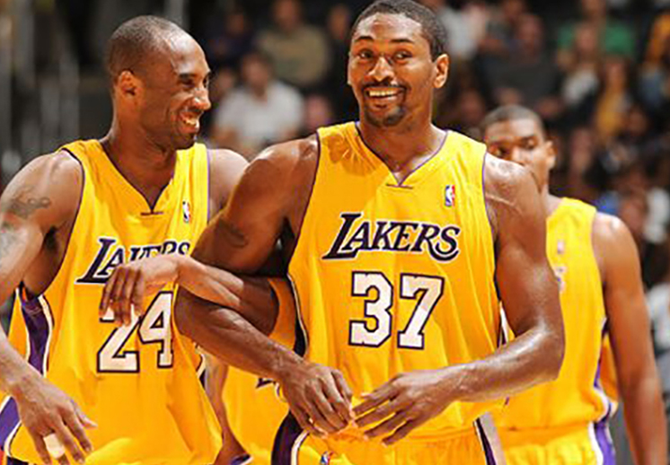 Metta World Peace quería hacer un homenaje a Kobe