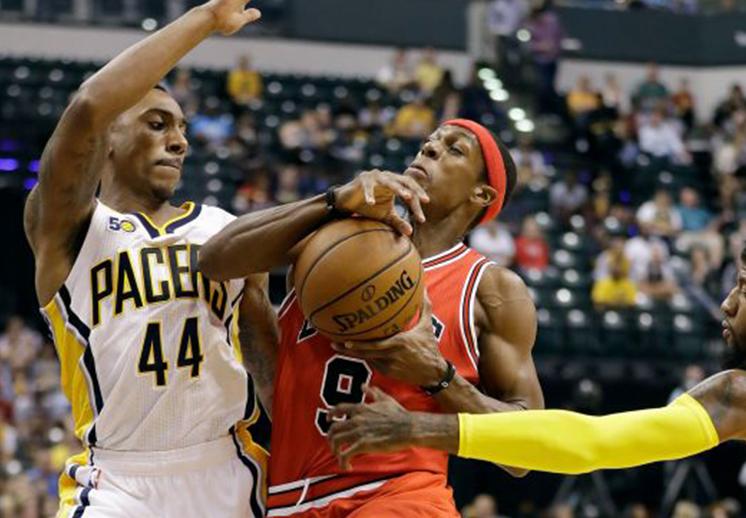 Los Pacers no perdonaron a los Bulls.