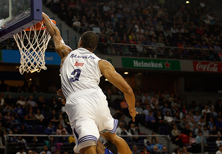 El show de Anthony Randolph con Real Madrid