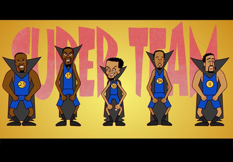 """El musical de los Warriors """"Super Team"""""""