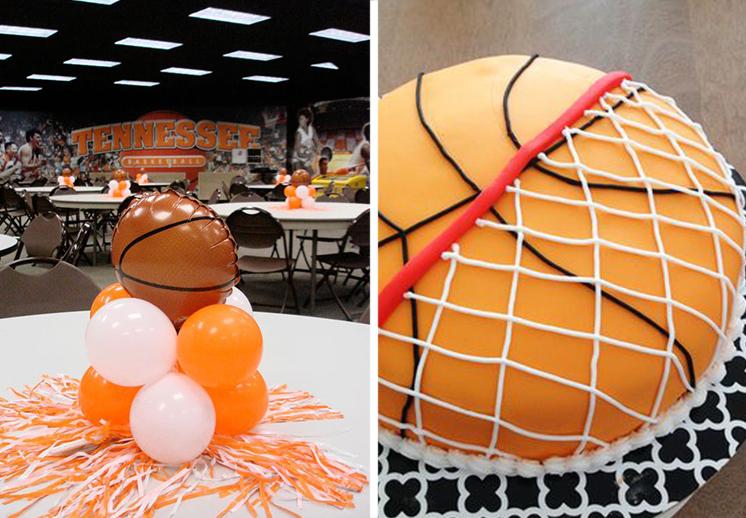 El cumpleaños basquetbolero perfecto