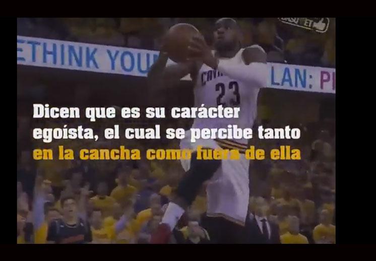 ¿Por qué LeBron James es el jugador más odiado de la NBA?