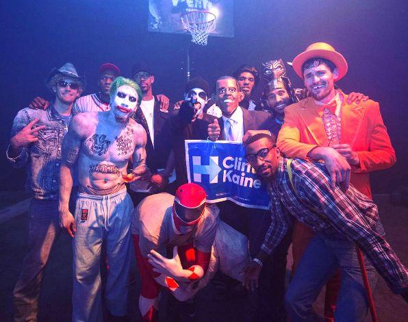 Noche de Halloween en la NBA. cavs disfrazados