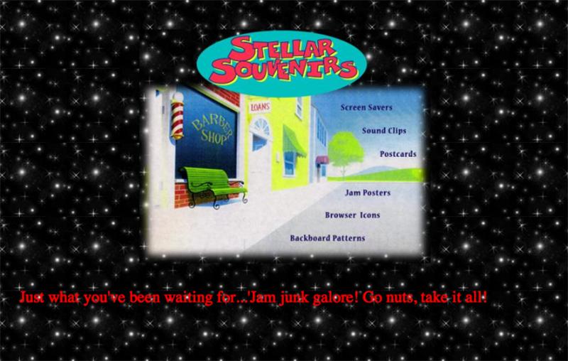 imagenes de la pagina web de space jam qeu no ha cambiado desde 1996, foto 2