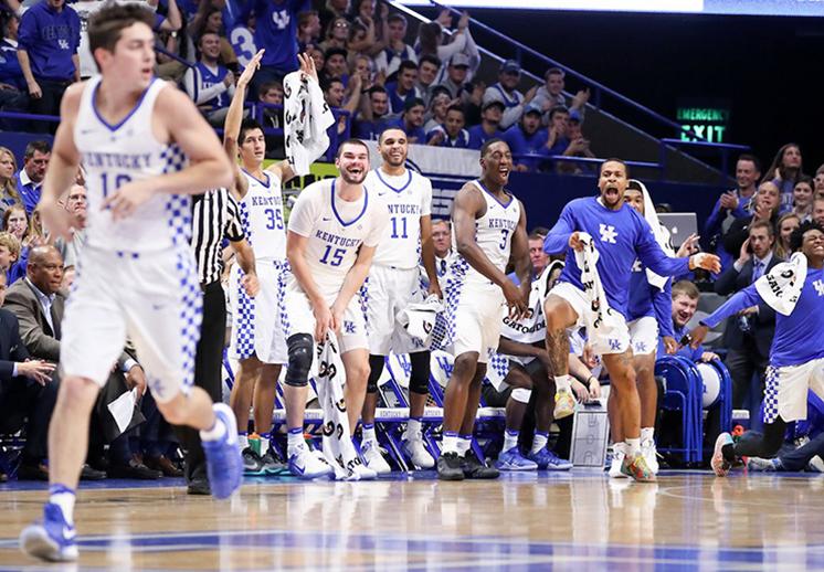 Paliza por 93 puntos de los Wildcats de Kentucky